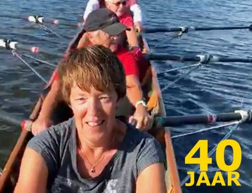 Ellie van Tol – 40 jaar roeilid