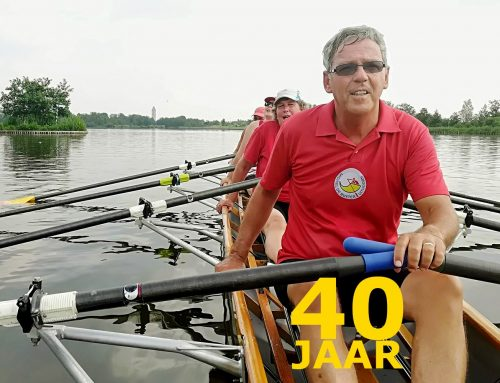 Harry de Grood – 40 jaar roeilid