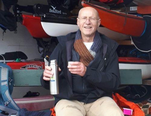 Jan Lantinga 25 jaar lid van MdR kajak