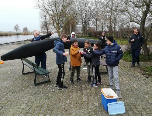 Nieuwe kanopolo jeugdboten gedoopt