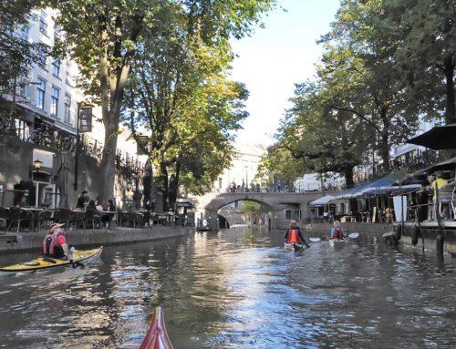 Kanotocht Utrecht