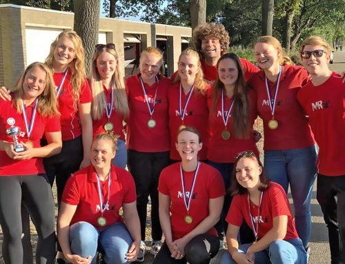 MdR Dames 1 Nederlands Kampioen!